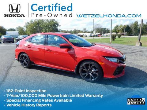 Certified Pre-Owned 2018 Honda Civic Sport Touring