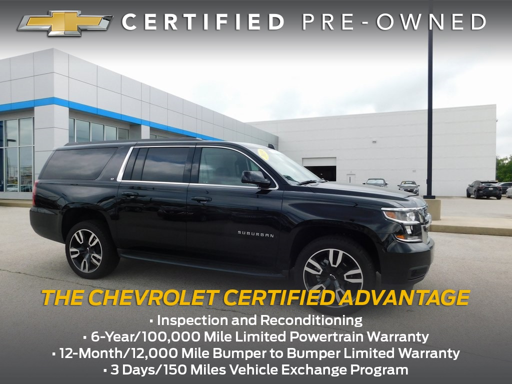 Certified Pre-Owned 2019 Chevrolet Suburban LT