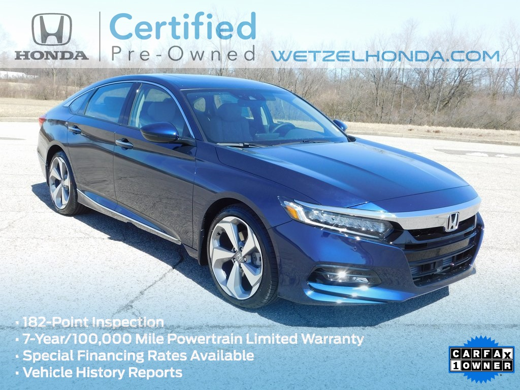 Certified Pre Owned 2018 Honda Accord Touring