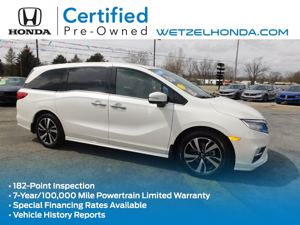 Certified Pre-Owned 2019 Honda Odyssey Elite