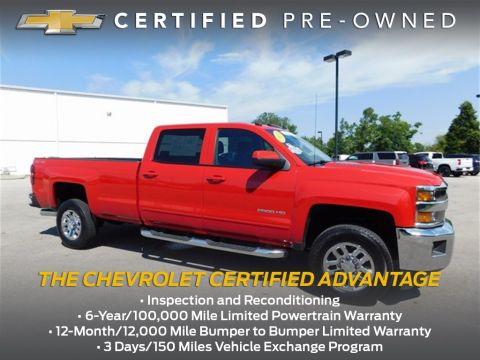 Certified Pre-Owned 2015 Chevrolet Silverado 2500HD LT