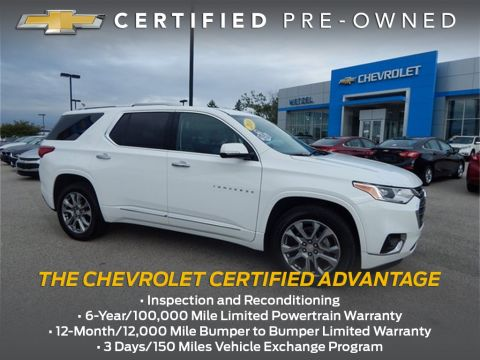 Certified Pre-Owned 2018 Chevrolet Traverse Premier