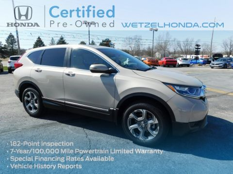 Certified Pre-Owned 2019 Honda CR-V EX